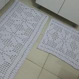 861c1a3a5 Kit Tapetes De Tear Fio Grosso no Mercado Livre Brasil
