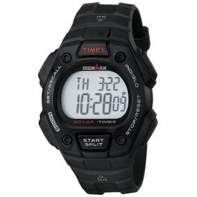 Reloj Timex T5k822 Ironman Classic 30 Black Resin Correa. 76fe1b2045e8