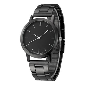 fced1004ccbb Reloj Metálico Negro Elegante Mayoreo Envio Gratis
