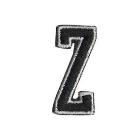 Bordado Patch Talysma Termocolante - Letra Alfabeto - Z 4e49dc7dc1dfa