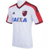 Camisa Flamengo Branca 2015 - Camisa Flamengo Masculina no Mercado ... e72995ba427d6