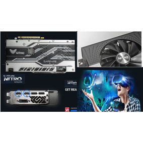 Tarjeta De Video Sapphire Nitro+ Radeon Rx 580 4gb Ddr5 New