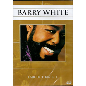 Dvd Barry White - Larger Than Live