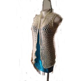 Chaleco En Crochet Talle S-m. e32812a60074