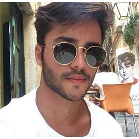 Óculos Redondo Douado Lentes Vinho De Sol - Óculos no Mercado Livre ... 36a45436fa