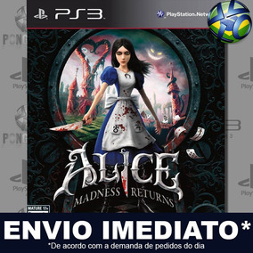 Alice Madness Returns Ps3 Midia Digital Psn Envio Imediato
