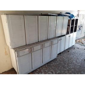 Moveis Para Cozinha Em Madeira Maciça (sucupira De Rondônia)