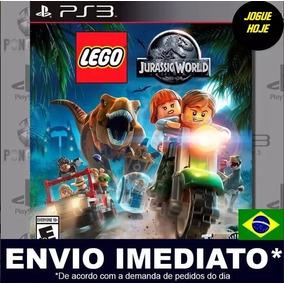 Lego Jurassic World Ps3 Mídia Digital Psn Promoção
