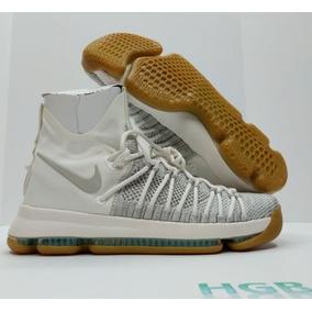 f66645eca7055 Nike Zoom Kd 9 Elite Para Hombre Kevin Durant Gray White Iv
