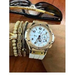 4fca54357b7 Réplica De Relógio Hublot Big Band Red Gold - Relógios De Pulso no ...