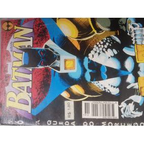 Hq Batman # 6 - 1995 - A Queda Do Morcego - Dc Comics