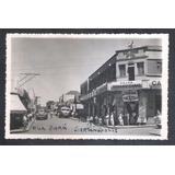 Foto Postal Anos 50 Sertanópolis Rua Pará Casa Pernambucana