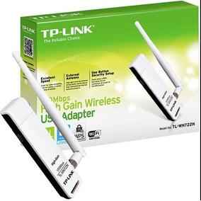 Adaptador Usb Wifi Alta Ganancia 150mbps Wn722n Tp-link Mi
