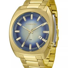 60126e21a04 Relogio Masculino Lince Azul - Relógios De Pulso no Mercado Livre Brasil