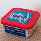 30 Pastillas Finish Powerball Tabs -detergente De Lavaplatos