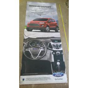 Banner Concessionaria Ford Garagem Placa Decoração Amarela 2