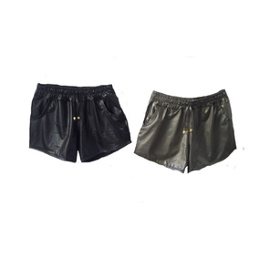 Shorts Feminina Boxe Metalizado Cirrê Brilho Hot P M G Gg