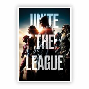 Pôster A3 - Liga Da Justica Unite The League