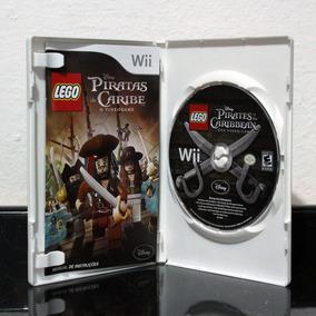 Piratas Do Caribe Wii Americano, Encartes, Capa E Media Ok!!