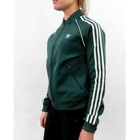 60bf0266ba5 Chamarras Adidas de Mujer Verde musgo en Mercado Libre México