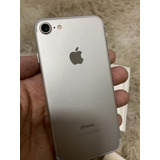 iPhone 7 32 Gb Silver Anatel Impecável Sem Detalhes Intacto