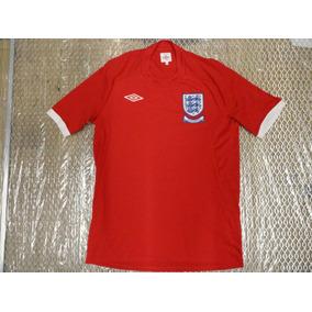 Jersey Playera Camiseta Inglaterra Sudafrica 2010 Umbro 7da93a1de43ec