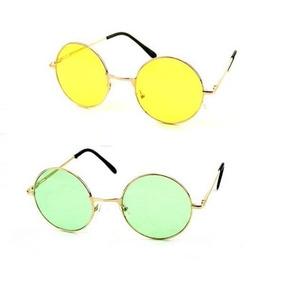 10de2fc660edc Oculos Redondo Colorido Barato De Sol - Óculos no Mercado Livre Brasil
