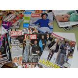 * Revistas Caras - Gente - Paparazzi - Para Ti - Bazaar Etc