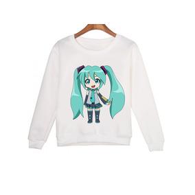 Sudaderas Miku Hatsune Vocaloid Todas Las Tallas