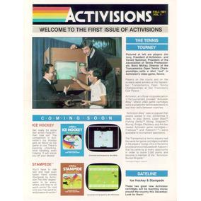 Atari Pacotão Boletim Informativo Activisions Colecionadores