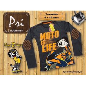 Camiseta Polo Tigor Infantil - Calçados bd13783f10b2c