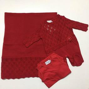 Saida De Maternidade Vermelha Noruega - Bebês no Mercado Livre Brasil 097afc3b494