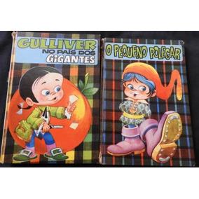 Lote 2 Livros Clássicos Infantis Capa Dura 1972