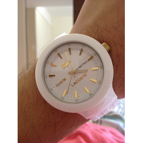 4d45c56ab98 Relogio Lacoste Branco Unissex - Relógios no Mercado Livre Brasil
