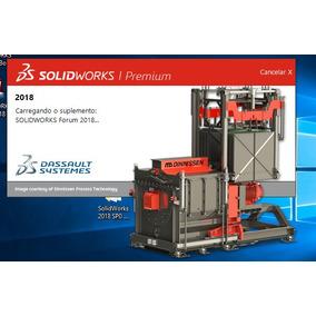 Solidworks 2018 Sp4 + Ativador - 64b - Português - Vitalício