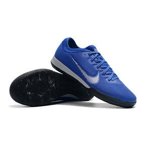Chuteira Nike Mercurial Glide Azul laranja C  Cravo - Chuteiras Nike ... 61d5bfc25f958
