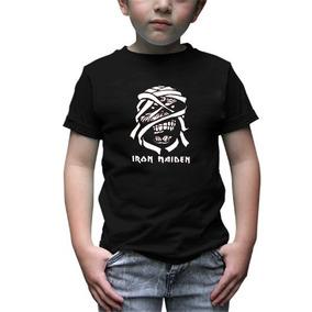 Iron Maiden Playera Infantil Rock -envío Gratis