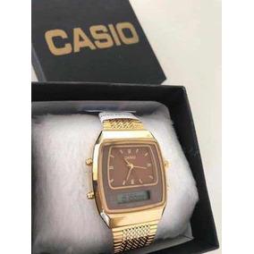 7ca4202f2cd Relógio Casio Primeira Linha - Relógios no Mercado Livre Brasil