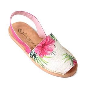 Sandália Avarca Botânica Hibisco - Cup Shoes
