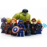 Lego Vengadores Avengers Hulk 8 Figuritas