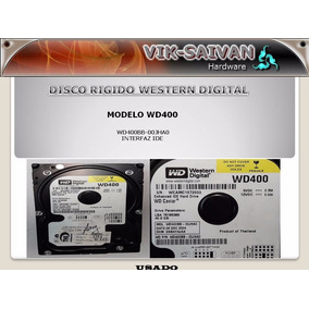 Rigido Western Digital Wd400 De 40gb Interfaz Ide 22