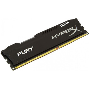 Memória Kingston Ddr4 8gb 2666mhz Hyperx Fury Pc Gamer