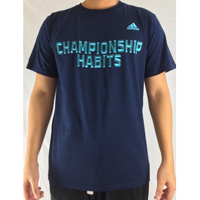 adidas Xl Camiseta Playera Championship Habits Hombre Caball