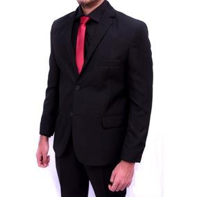Blazer + Calça Slim Oxford Masculino + Camisa Social