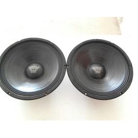 Par Woofer Oversound Steel, 10, 150 Rms Cada, 8ohm Originais