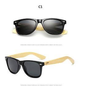 34a8c2e301938 Óculos Bambu - Óculos De Sol Sem lente polarizada no Mercado Livre ...
