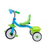 Triciclo Infantil Con Canasto Rodaditos Giro Didáctico
