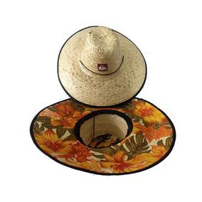 Chapéu De Palha Quiksilver Estampado