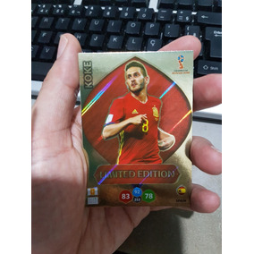 Card Adrenalyn Xl Copa 2018 Russia Limited Edition Koke