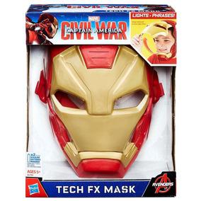 Máscara Eletrônica Hasbro Capitão América: Homem Ferro Fx B5